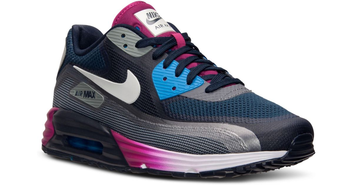 promo code a3c8a aafd5 Nike Mens Air Max 90 Lunar C30 Running Sneakers From Finish Line for Men -  Lyst