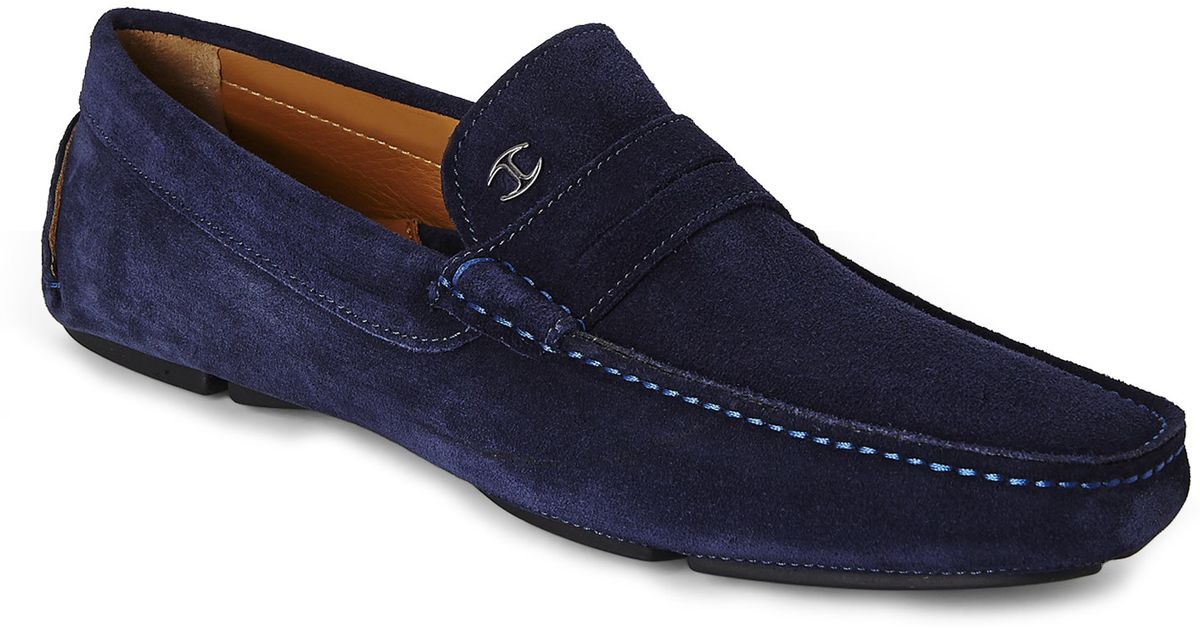 Blue Suede Dress Shoes For Sale