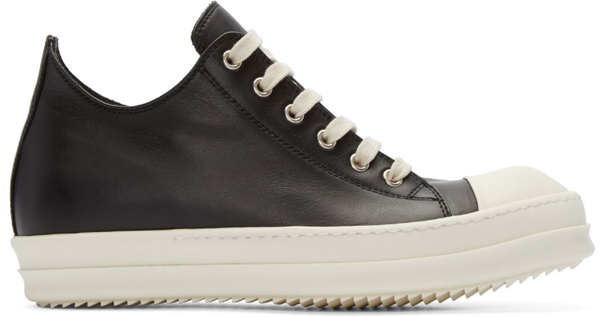 Rick OwensLeather Low Trainers mljD5he