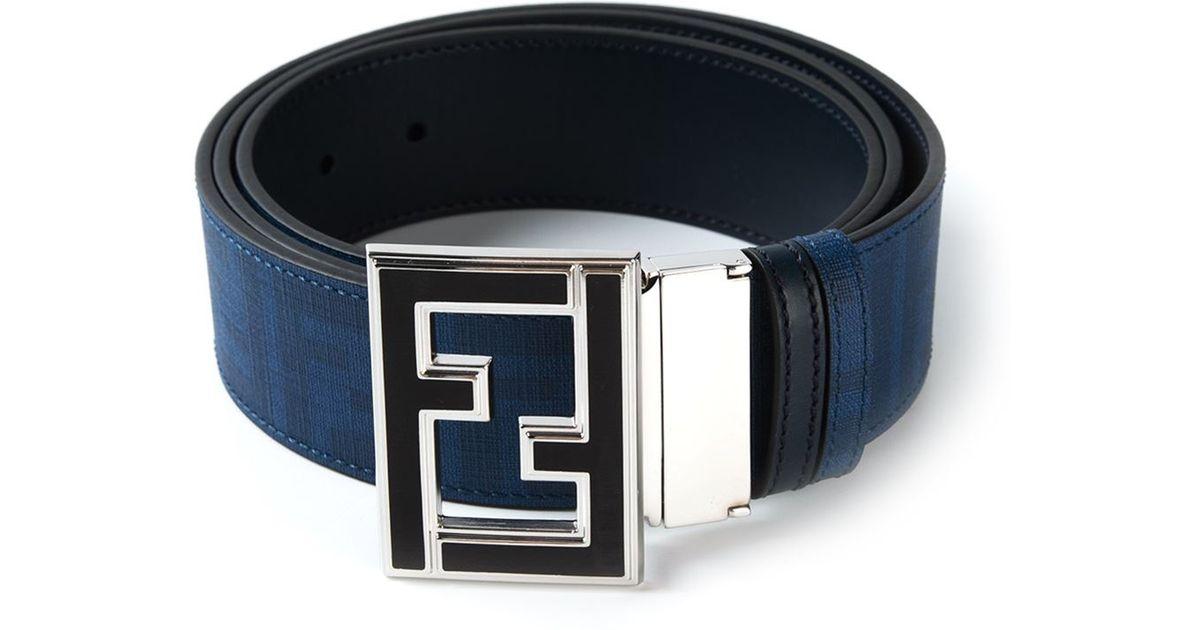 a08ad2e3b2 coupon code for fendi zucca belt blue label 65a67 291dc
