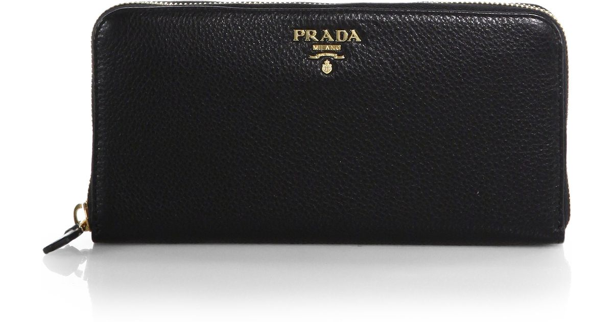prada purse replica - prada-black-vitello-phoenix-continental-zip-wallet-product-1-27590877-1-740445949-normal.jpeg