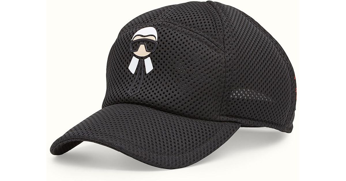Lyst - Fendi Hat Hat in Black 914bc590325