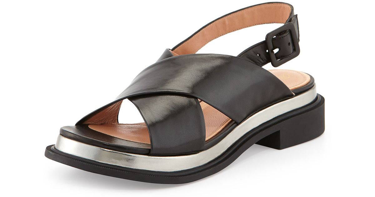 crisscross sandals - Black Robert Clergerie lxlbjxWTj