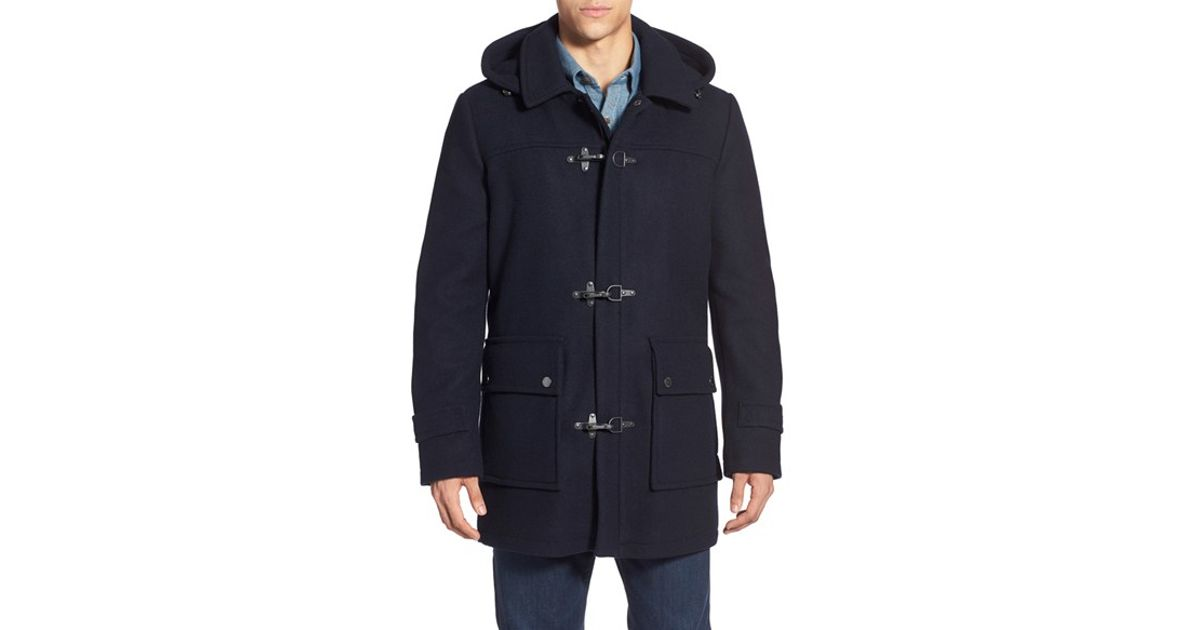 Pendleton 'knob Hill' Wool Blend Toggle Coat in Blue for Men | Lyst