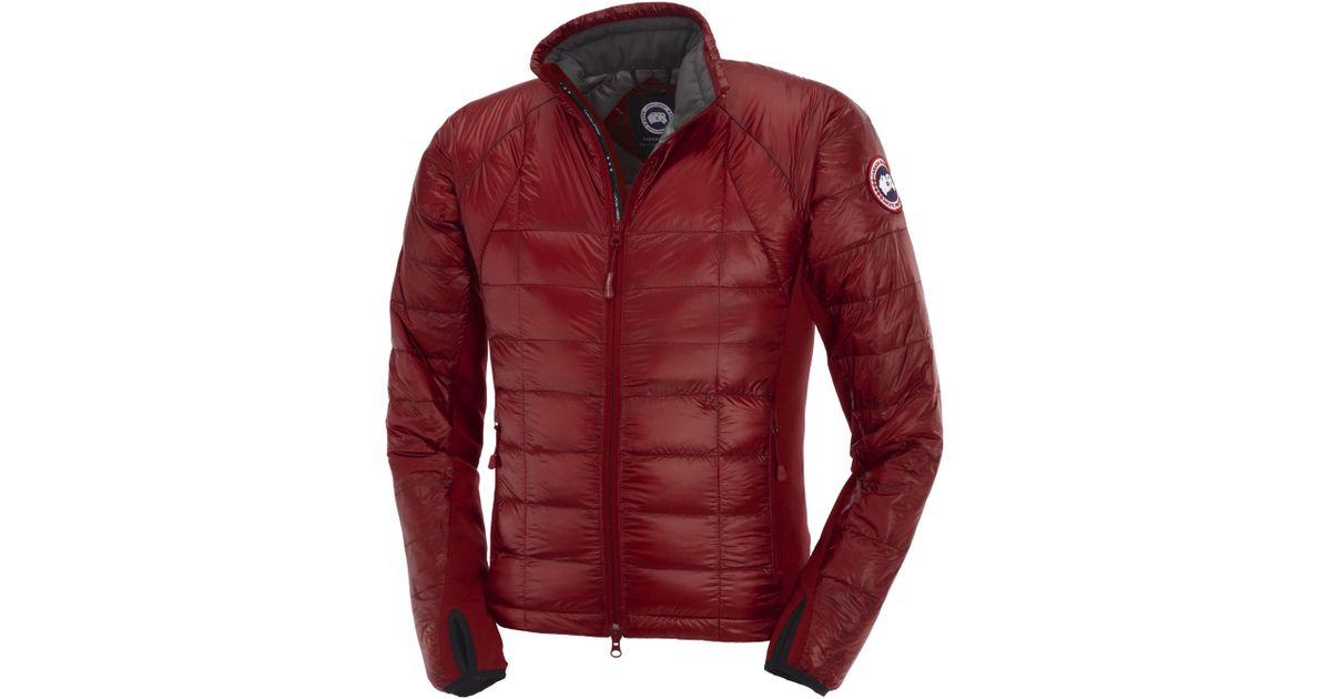 Canada Goose Hybridge Lite Jacket In Red For Men Lyst
