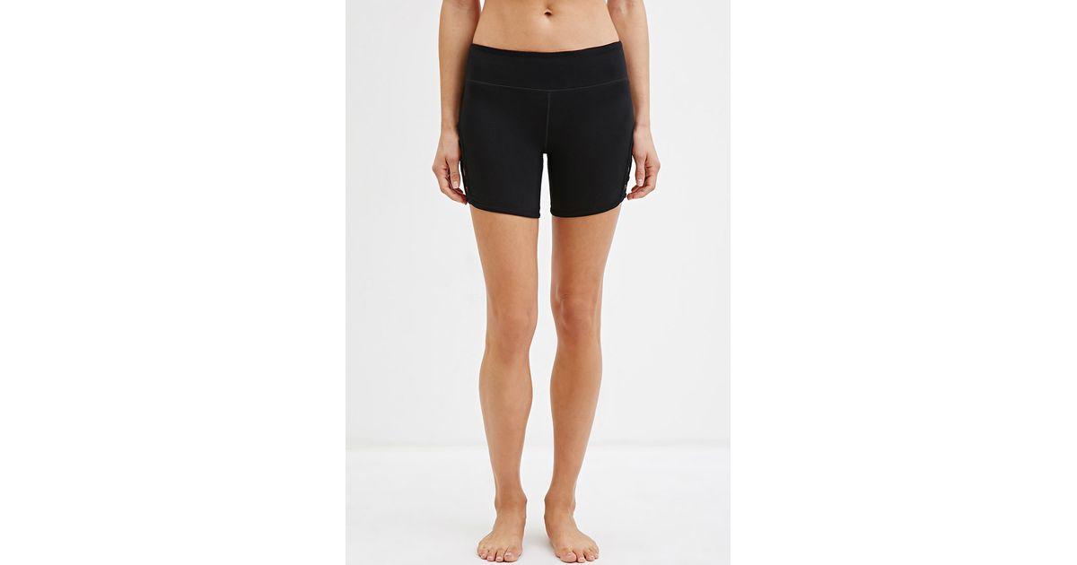 Shorts with criss-cross Saint Laurent MezqIjM