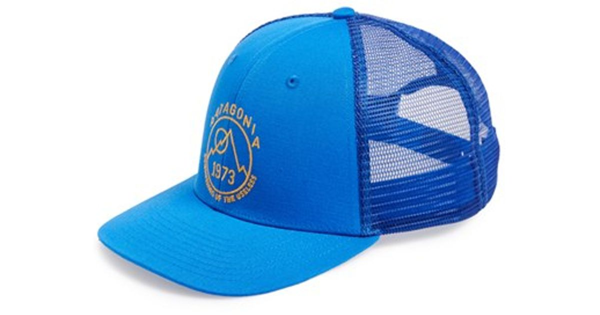 9f4fa942611 Lyst - Patagonia  basecamp  Tucker Hat in Blue for Men