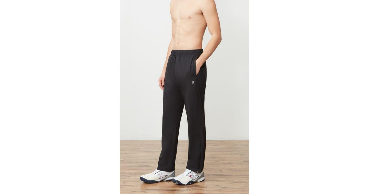 ab4bbdcede Fila - Black Fundamental Pant for Men - Lyst