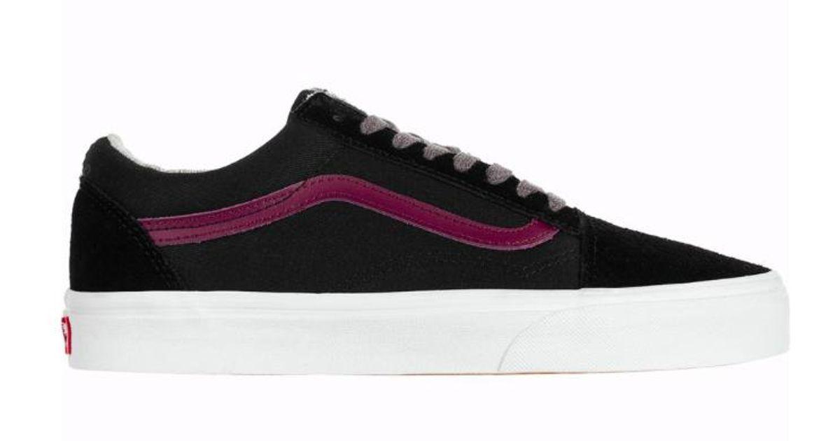 3a8d45f88d58 Lyst - Vans Men Jersey Lace Old Skool Shoes