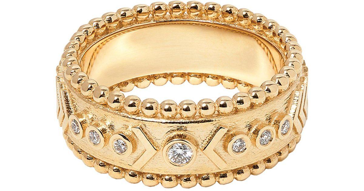 Marlo Laz Arrow Rawa 14K Gold Ring 7fpyfwPzd