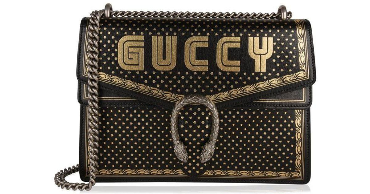 04f3d96579 Gucci Guccy Dionysus Bag in Black - Lyst