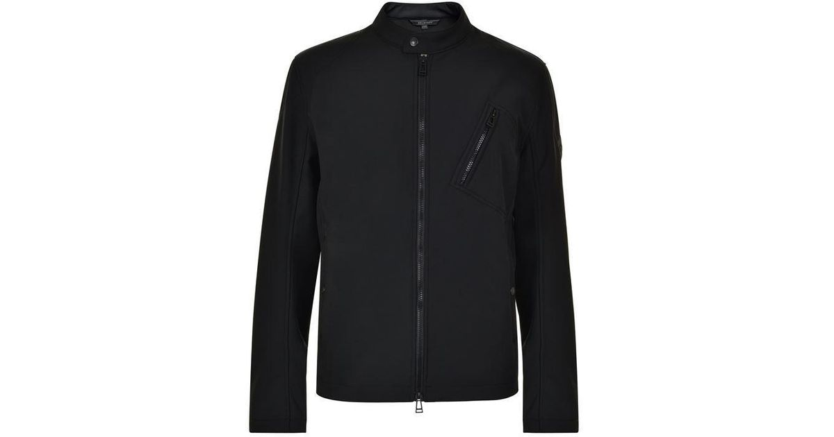 45b2ade1 Belstaff Biker Shell Jacket in Black for Men - Lyst