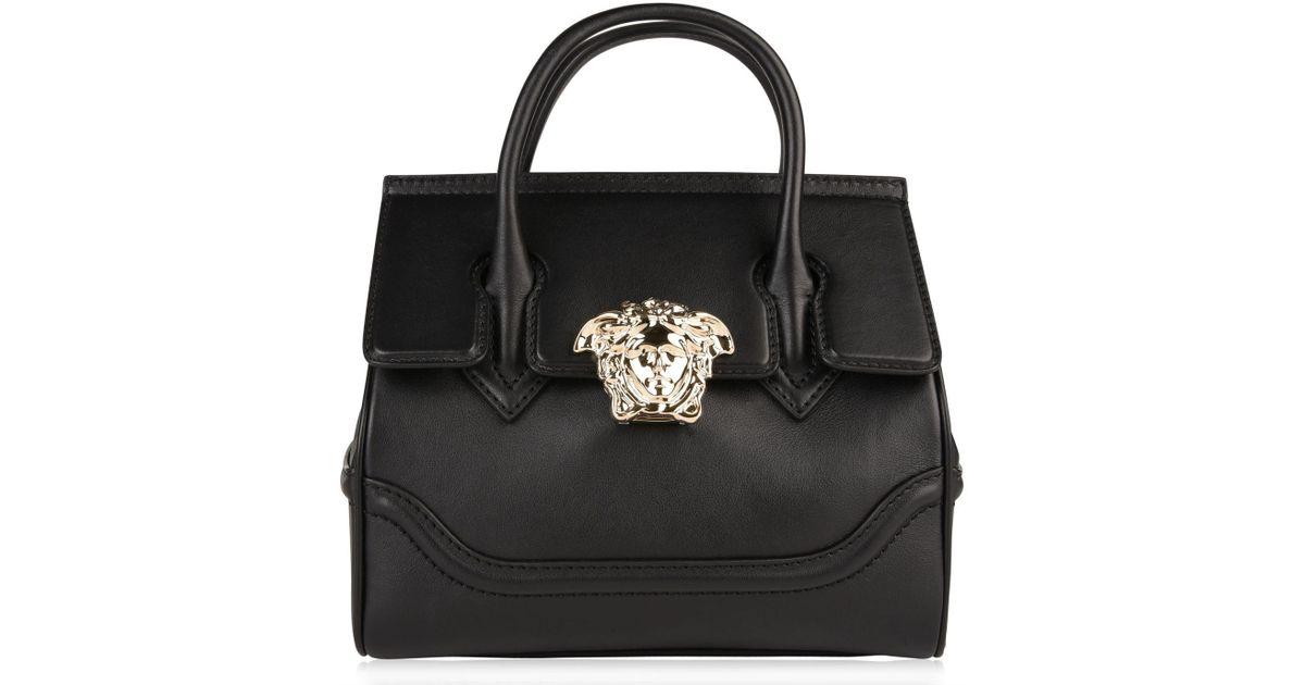 e7af9c1dc0 Versace Medusa Clasp Bag in Black - Lyst