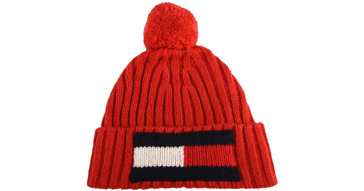 Lyst - Tommy Hilfiger Hat in Red for Men 4c9279fcc8b