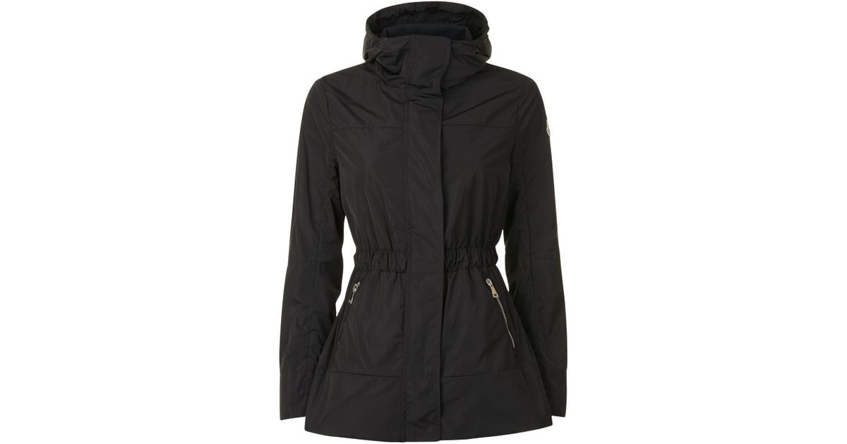 1f2f170ed1a0 Lyst - Moncler Disthene Hooded Jacket in Black