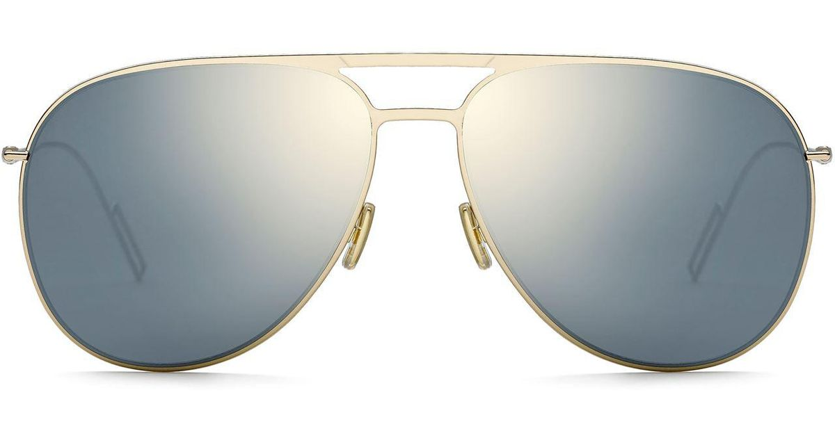 833b55515adb0 Dior Homme 0205s Sunglasses in Metallic - Lyst
