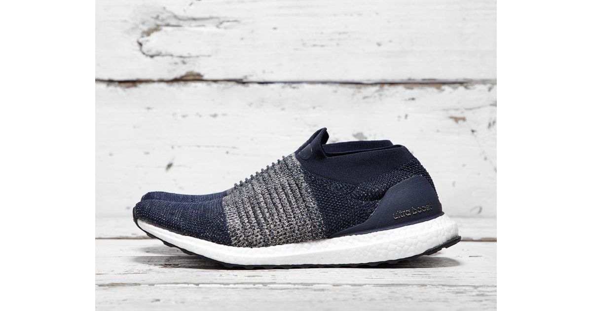 94f16d3ff46 Lyst - adidas Ultra Boost Laceless in Blue for Men