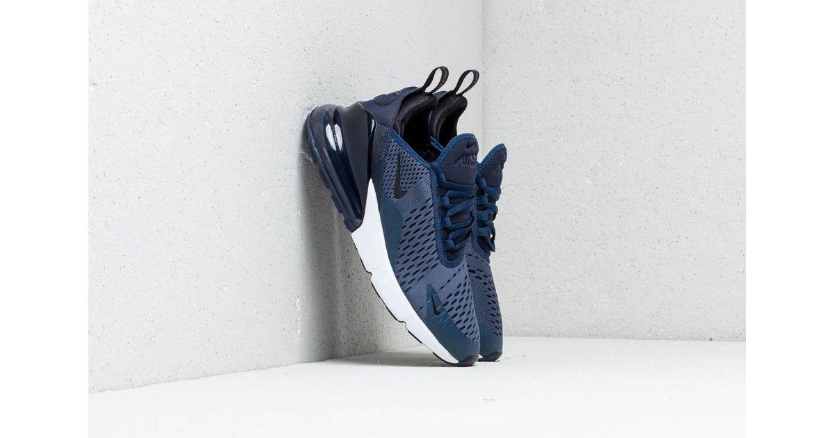 Lyst - Nike Air Max 270 (gs) Midnight Navy  Black-white in Blue ddfbb1b7c