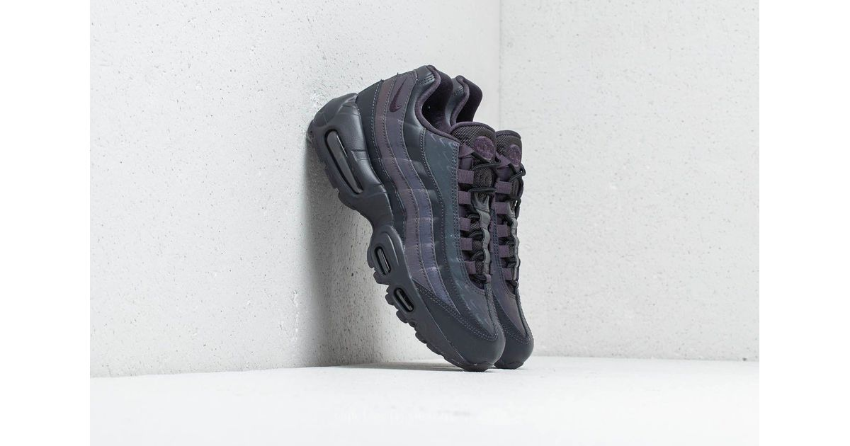 Nike Sportswear AIR MAX 95 PRM Trainers oil greybright