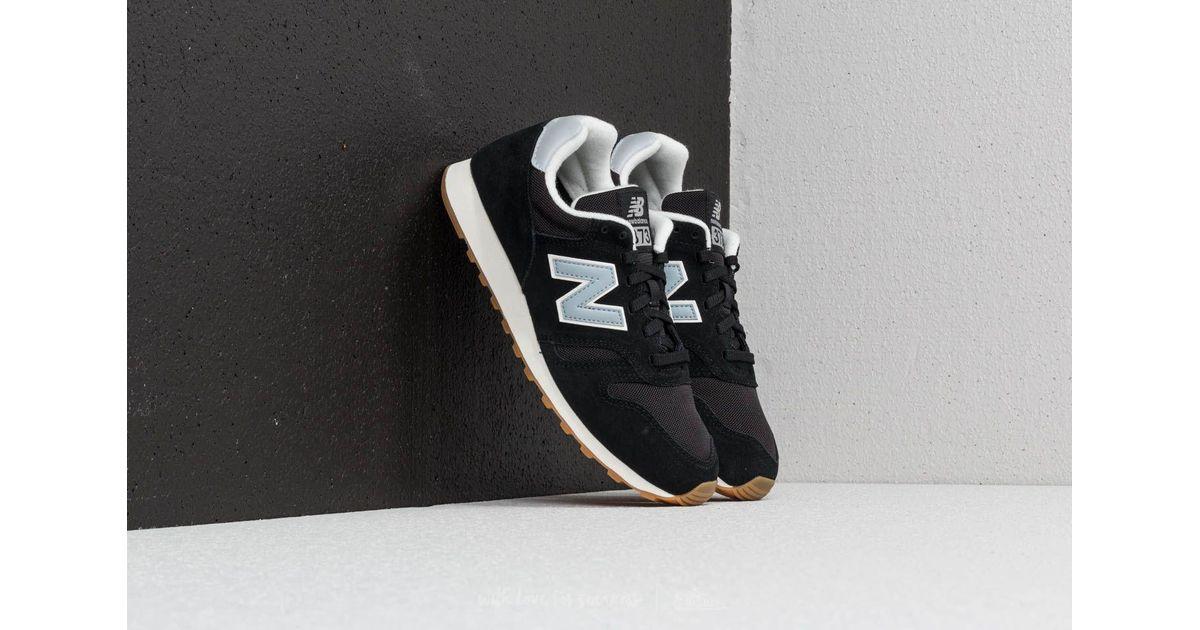 New Balance 373 Black Light Blue for men