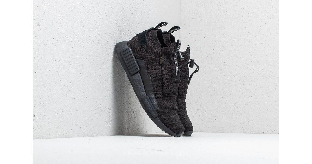 hot sale online a8102 957b7 Lyst - adidas Originals Adidas Nmdts1 Primeknit Gore-tex Core Black Core  Black Core Black in Black for Men