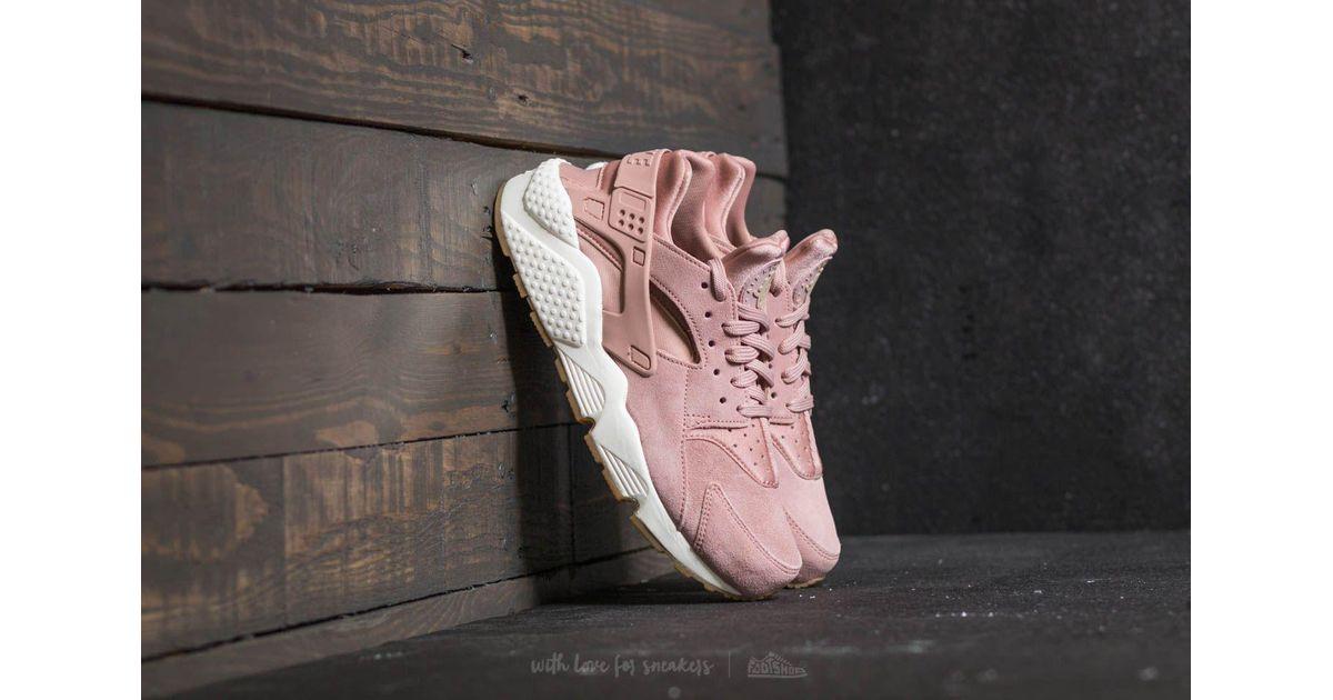 fb0540ba0385 Lyst - Nike Wmns Air Huarache Run Sd Particle Pink  Mushroom-sail in Pink