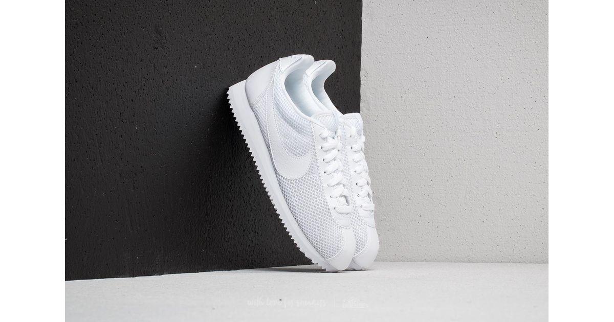 the latest 78e89 1a719 ... promo code for lyst nike wmns classic cortez premium white white in  white save 29.126213592233015 2f630 ...