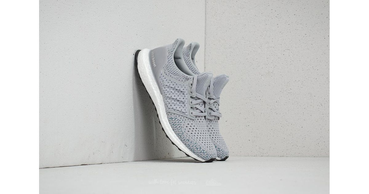 4f0427b7d Lyst - adidas Originals Adidas Ultraboost Clima Grey Two  Grey Two  Real  Teal in Gray for Men