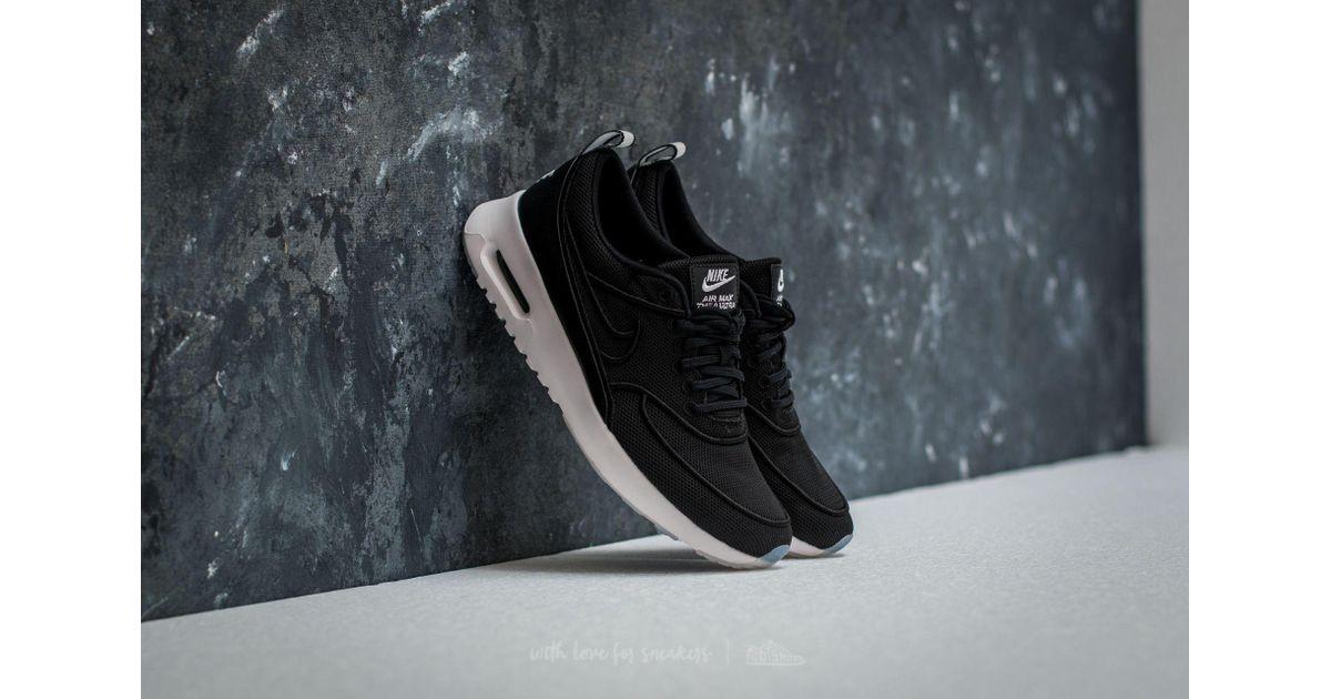 super popular afedc 11d24 Lyst - Nike W Air Max Thea Ultra Si Black  Black-white-glacier Blue in Black  for Men