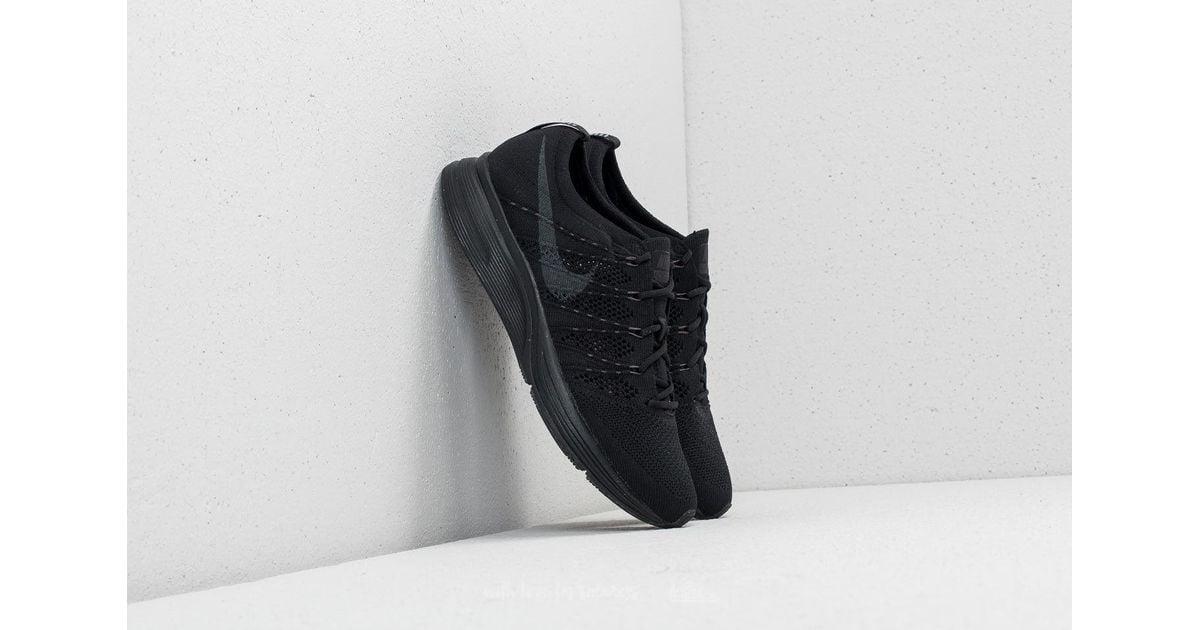 2370c6c34ef7 Lyst - Nike Flyknit Trainer Black  Anthracite-black in Black