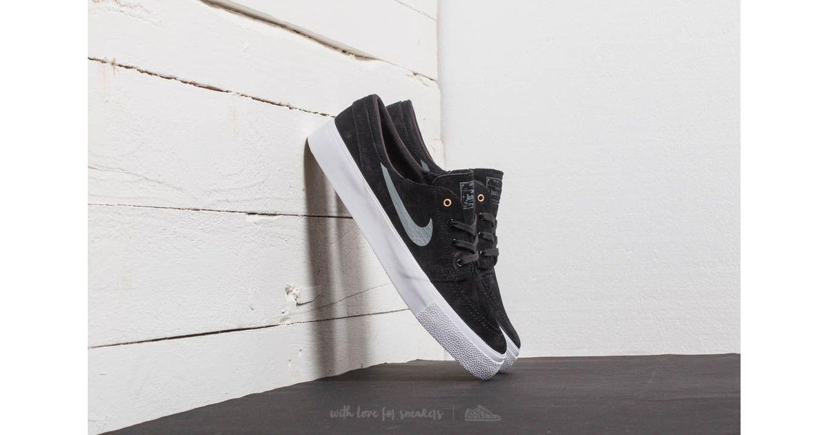 wholesale dealer bd335 0c51d Nike Sb Zoom Janoski Ht Black  Dark Grey-metallic Gold in Metallic for Men  - Lyst
