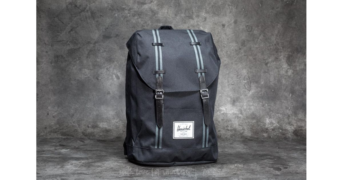 ad93fc3655a Lyst - Herschel Supply Co. Retreat Backpack Black  Dark Shadow in Black for  Men