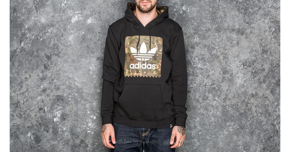 Lyst - adidas Originals Adidas Blackbird Camouflage Hoodie Black in Black  for Men c6a324bddfa7