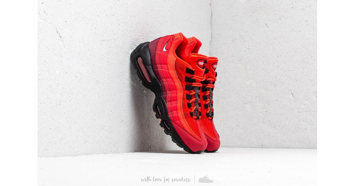 huge selection of ddd1a 57eae Nike Air Max 95 Og Habanero Red  White-university Red in Red for Men - Lyst
