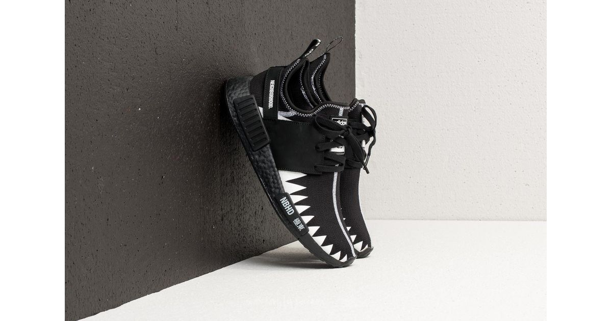 release date 9a486 ea223 Lyst - adidas Originals Adidas X Neighborhood Nmd R1 Primeknit Black  Black   White in Black for Men