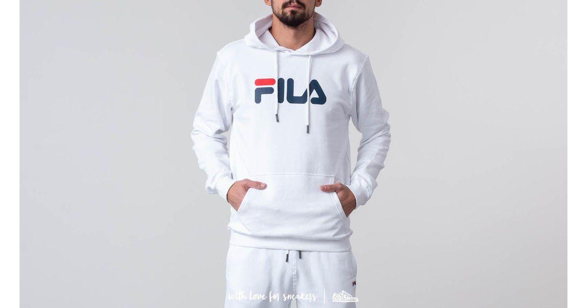 350c2a92 Fila Pure Hoodie Bright White in White for Men - Lyst