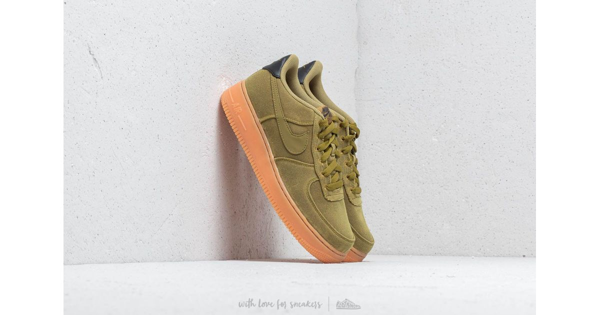 d50b7a94bae6 Lyst - Nike Air Force 1  07 Lv8 Style Camper Green  Camper Green in Green  for Men