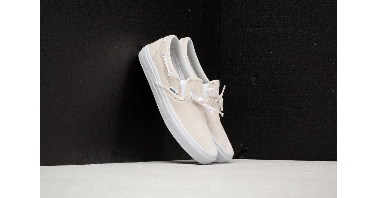 e22883b452 Lyst - Vans Lacey 72 (suede) Leather Lace  Classic White for Men