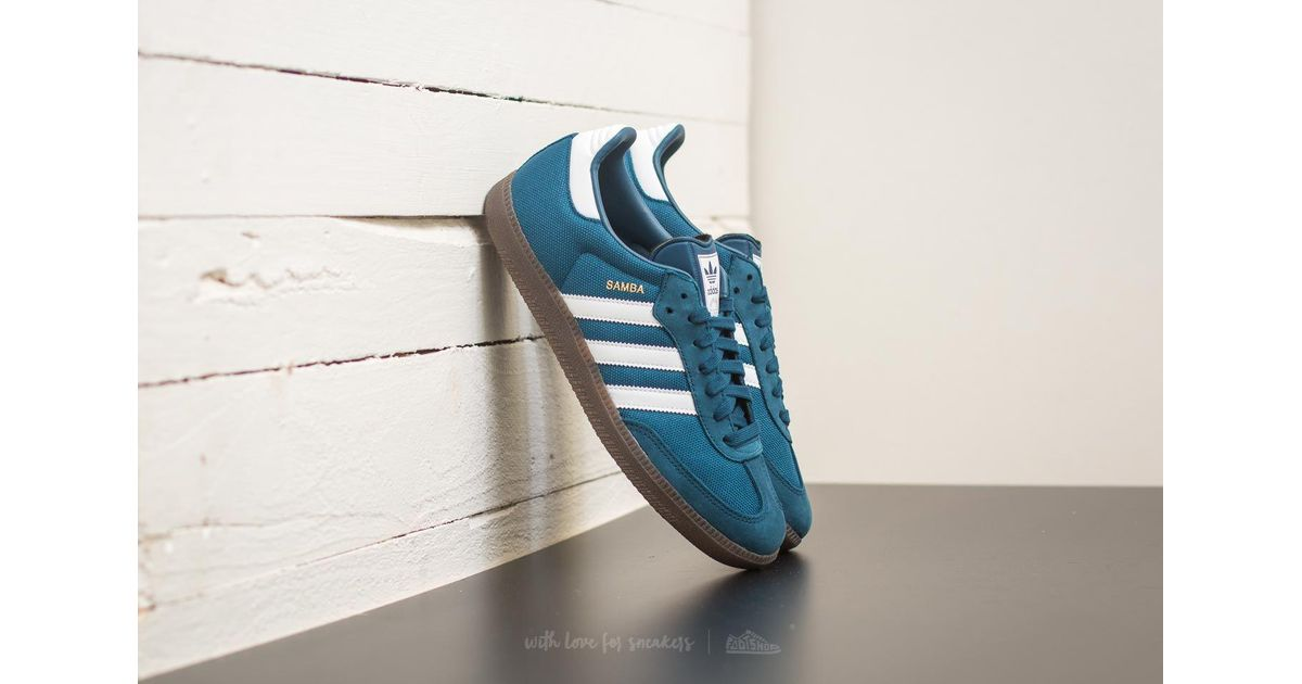 Lyst adidas Originals Adidas Samba azul noche / calzado blanco / Gum