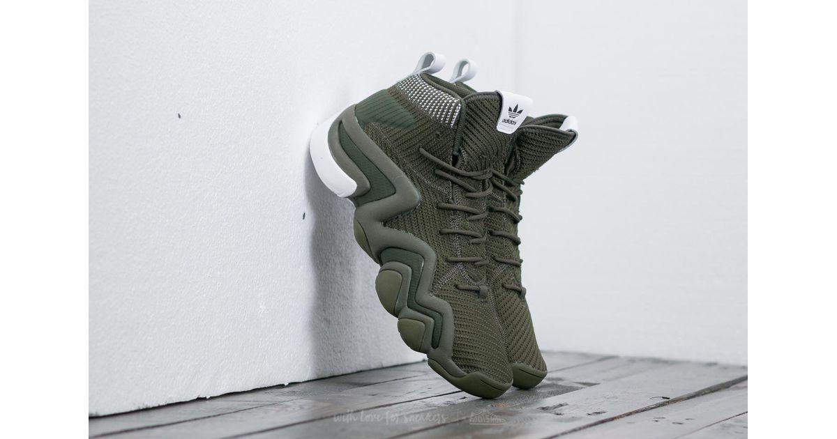 d40e7015a9eabb Lyst - adidas Originals Adidas Crazy 8 Adv Primeknit Night Cargo  Night  Cargo  Ftw White in Green for Men