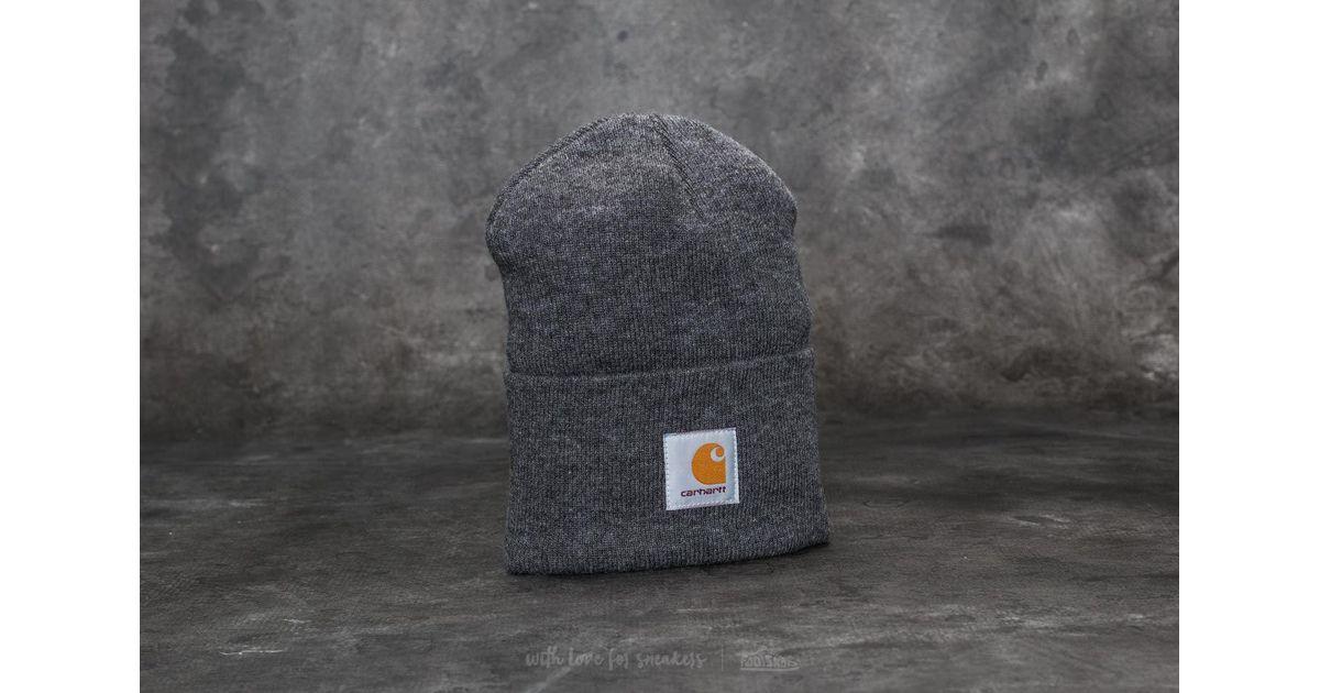 71c09ae9 Carhartt WIP Acrylic Watch Hat Dark Grey Heather in Gray for Men - Lyst