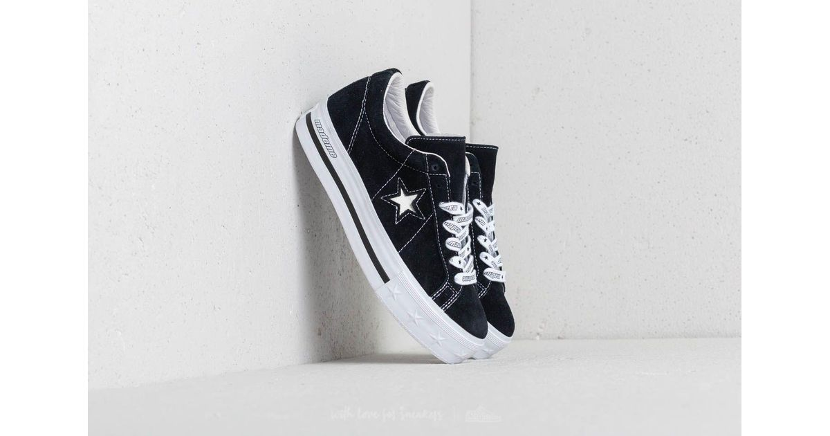c247d947ed78 Lyst - Converse X Mademe One Star Platform Ox Black in Black