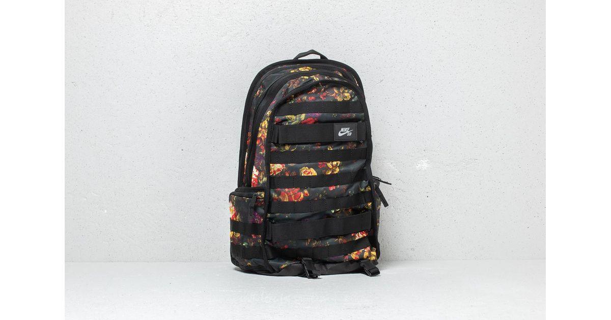 c95420118e51 Lyst - Nike Sb Rpm Graphic Backpack Floral  Black  Black in Black