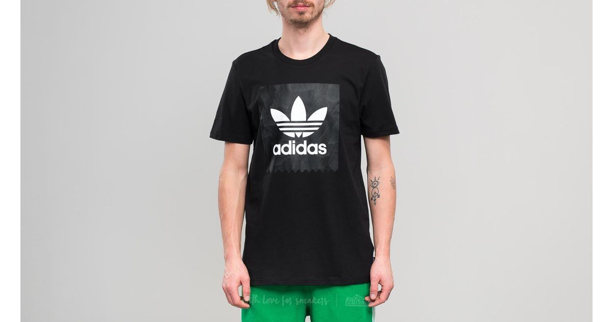 408815cf31 Lyst - adidas Originals Adidas Bb Warp Tee Black/ White in Black for Men