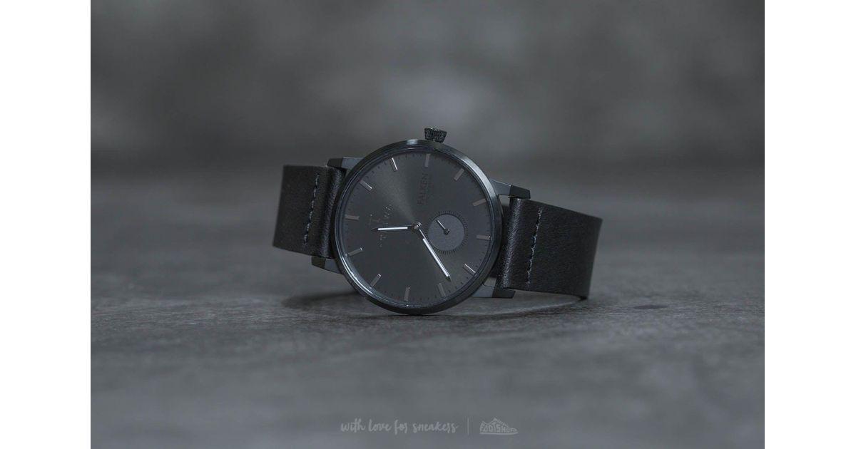 Lyst - Triwa Midnight Falken Black Classic in Black for Men 82ccb23f07