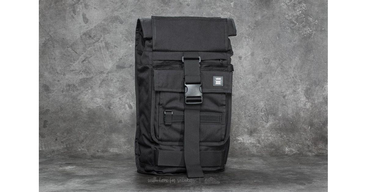 8537a4e1bd4 Vans X Mission Workshop Backpack Black in Black for Men - Lyst