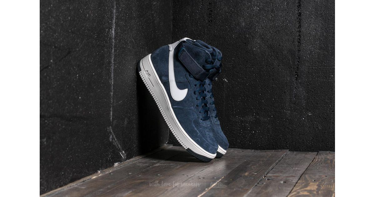 Lyst - Nike Air Force 1 Ultraforce Hi Armory Navy  Summit White in Blue for  Men dfeca8d46