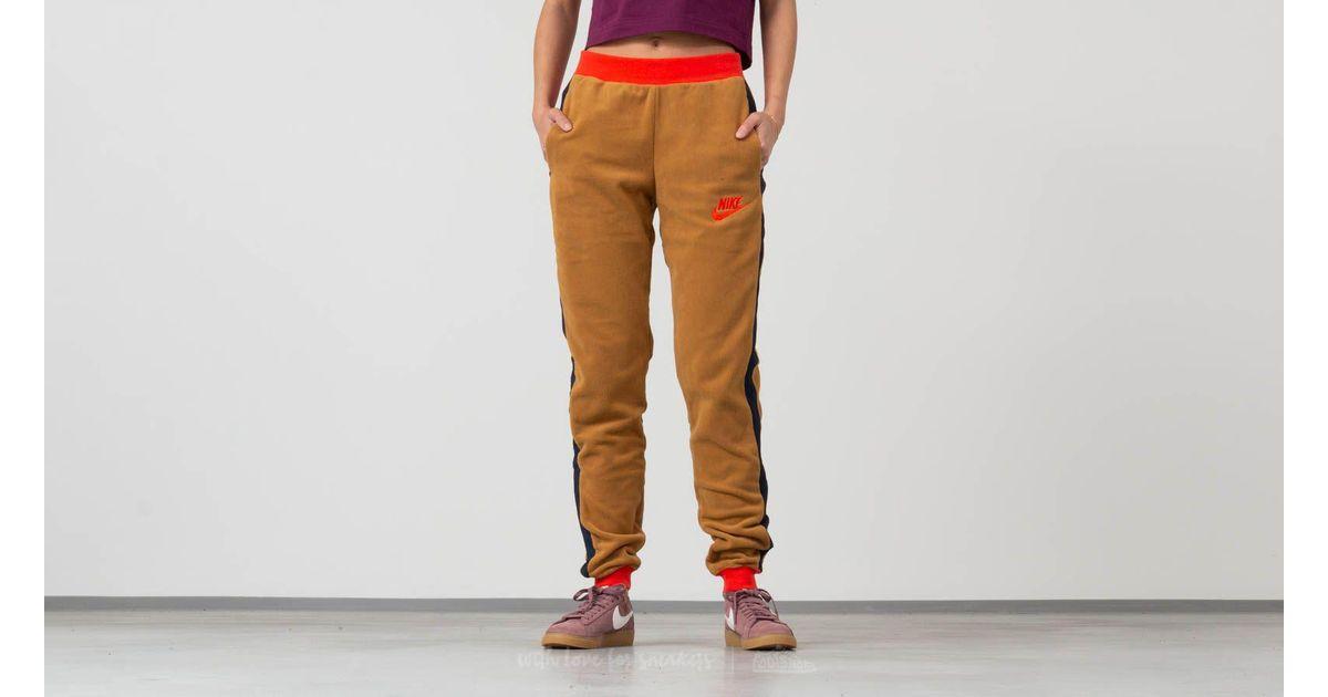 Lyst - Nike Sportswear Polar Pants Beige  Red for Men b8dee6897985