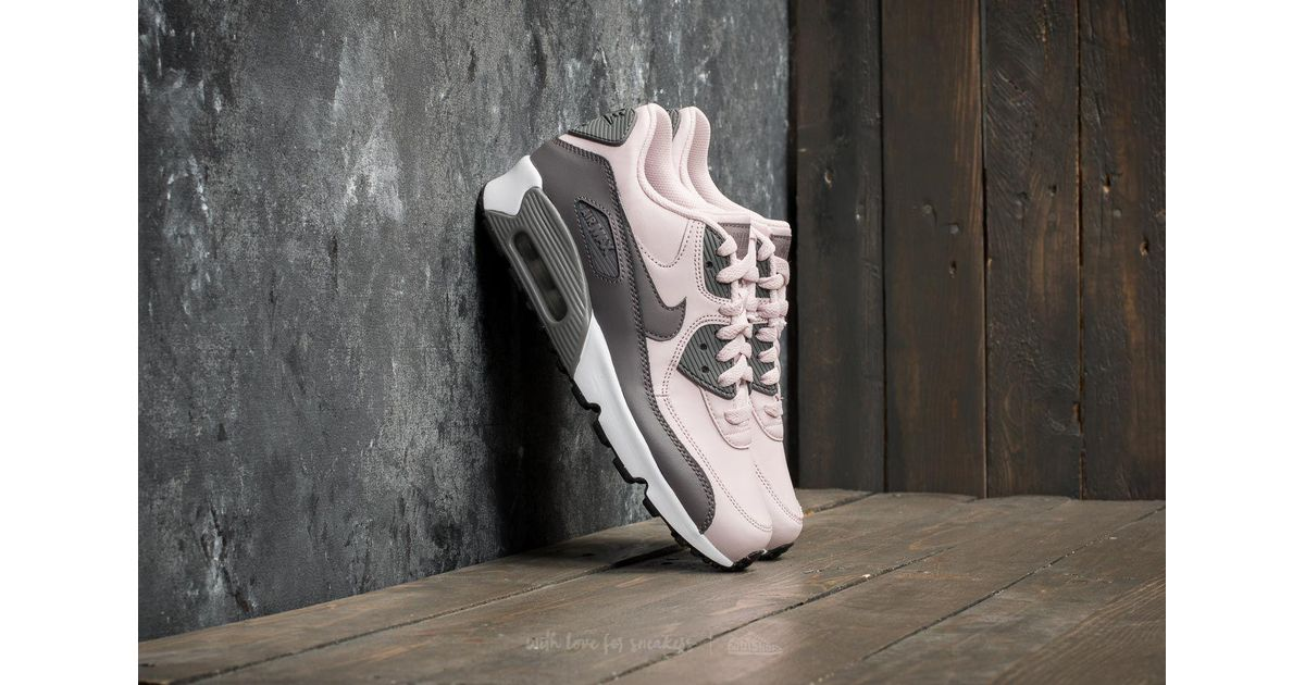 f36cebc33f Nike Air Max 90 Leather (gs) Barely Rose/ Gunsmoke-white - Lyst