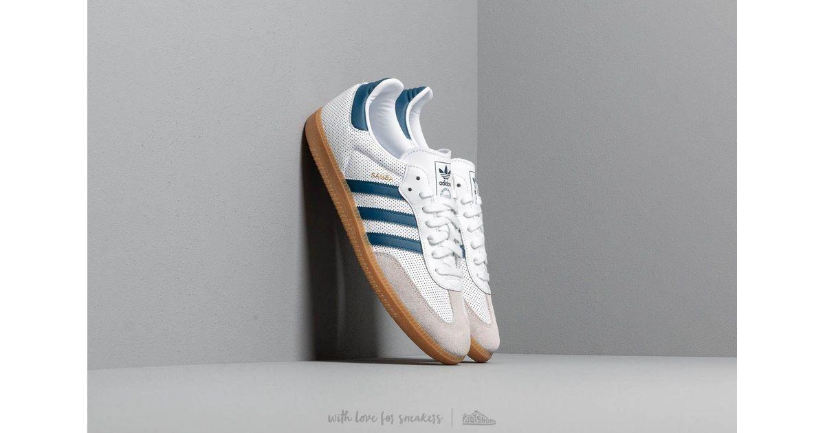 Adidas Originals Gray Adidas Samba Og Ftw White Legend Marine Grey One for men